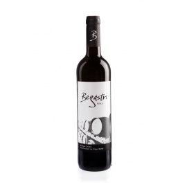 Vino tinto roble Begastri Carreño.